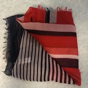 Accessories - Red, white and dark blue scarf
